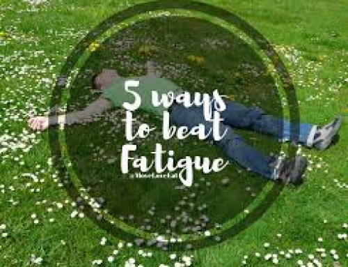 5 ways to beat fatigue….