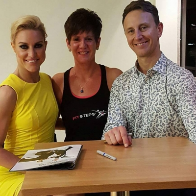 Natalie Lowe and Ian Waite.