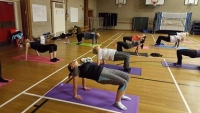 Power Yoga – Table top pose